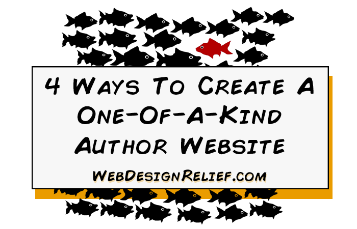 One-Of-A-Kind Author Website
