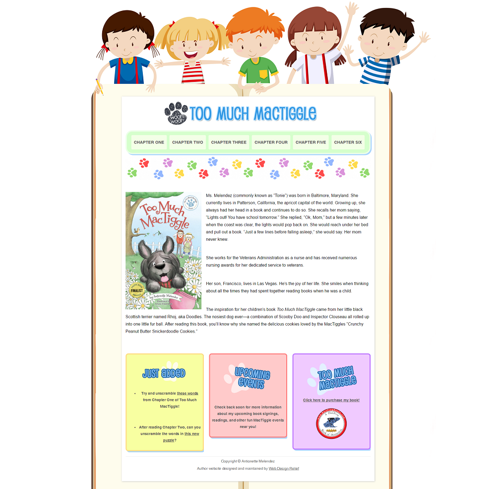 Great author website ideas you can make your own web for Website where you can draw