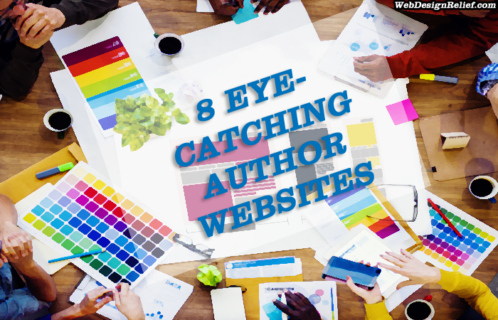 Author Website Examples