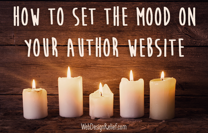 Mood On Your Author Website