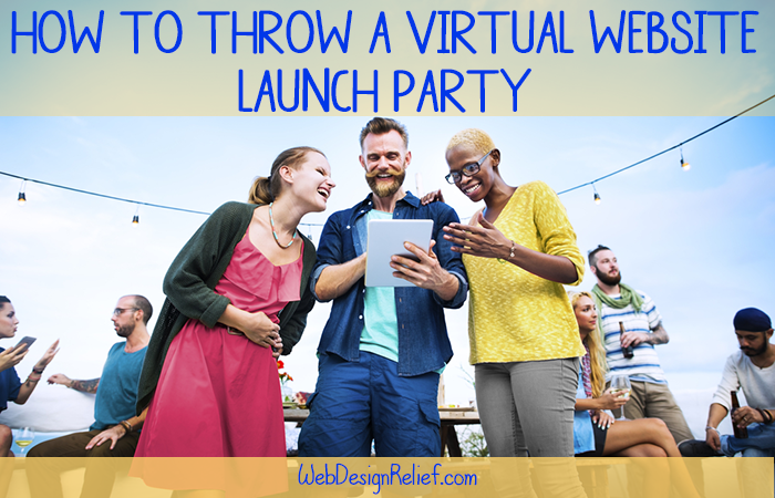 Virtual Website Launch Party