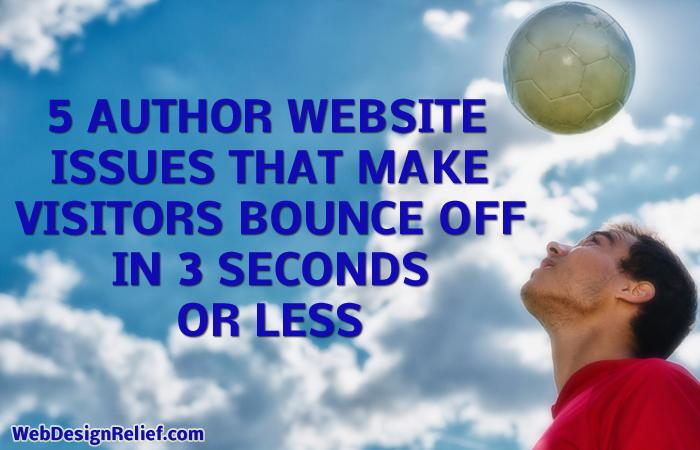 AuthorWebsiteIssues